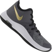 Tênis Nike Air Versitile Iii - Masculino - Cinza Escuro/Branco