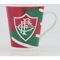 Caneca Porcelana Fluminense Grená
