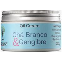 Creme Corporal Chá Branco & Gengibre Oil Cream Orgânica 250Gr