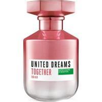 Perfume Feminino United Dream Together Benetton Eau De Toilette 80Ml - Feminino