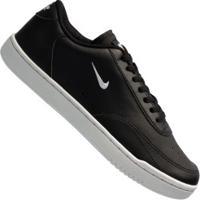 Tênis Nike Court Vintage - Masculino - Preto/Branco