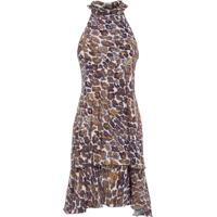 Vestido Curto Wild Jaguar Canal - Animal Print