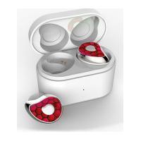 Fone De Ouvido Sdbc Se6 Bluetooth 5.0 Com Case - Vermelho E Prata