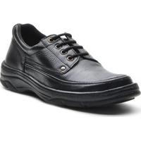 Sapato Masculino Conforto Cadarco Preto - Masculino-Preto