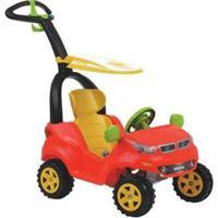 Carrinho De Passeio Infantil Push Baby Easy Ride - Unissex-Vermelho