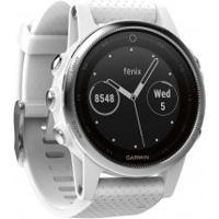 Monitor Cardíaco Com Gps Garmin Fênix 5S - Branco