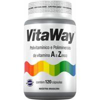 Vitaway Polivitamínico A Z - 120 Cápsulas - Fitoway