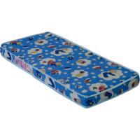 Colchão Infantil De Espuma D18 Brincando (12X70X150) Azul