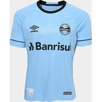Camisa Grêmio Ii 2018 S/N° Charrua Torcedor Umbro Masculina - Masculino
