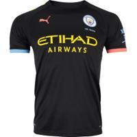 Camisa Manchester City Ii 19/20 Puma - Masculina - Preto