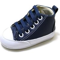 Tênis Botinha Sapatotop Shoes Bebe Azul