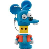 Pen Drive Comichão Simpsons 8Gb Usb Leitura 10Mb/S E Gravação 3Mb/S Multilaser - Pd076 - Padrão