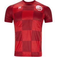 Camisa Do Náutico Iii 2019 Nseis - Masculina - Vermelho