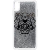Kenzo Capa Para Iphone Xs Tiger Max - Metálico