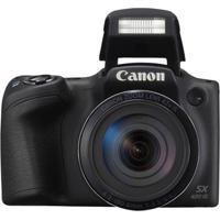 Câmera Powershot Is, 20Mp, Tela 3.0', Wi-Fi/Nfc Preto Canon Sx420