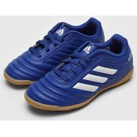Chuteira Adidas Performance Infantil Copa 20 4 Salao Jr Azul