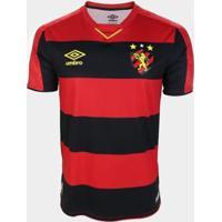 Camisa Sport Recife I 19/20 S/Nº Jogador Umbro Masculina - Masculino
