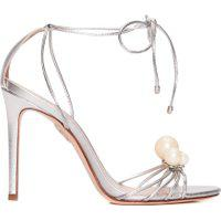 Sandália Feminina Pearls - Prata