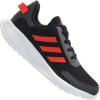 Tênis Infantil Adidas Tensaur Run - Preto/Laranja