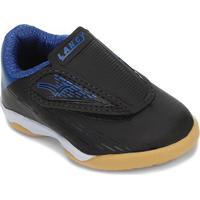 Tênis Infantil Lancy Velcro Masculino - Masculino-Preto+Azul