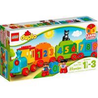 Lego Duplo - Trenzinho Dos Números - 10847 - Unissex-Incolor