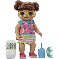 Boneca Baby Alive - Sapatinhos Brilhantes - Morena - E5248 - Hasbro
