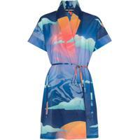 Double Rainbouu Kimono Wet Dream - Azul