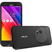 """Smartphone Asus Zenfone Zoom Zx551Ml 1A091Br - Intel Z3580 2.3Ghz - Android 5.0 - Tela Full Hd 5.5"""" - 64Gb - 13Mp - 4G - Preto"""