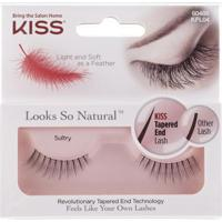 Cílios First Kiss Looks So Natural Sultry Kfl04Br - Feminino-Incolor