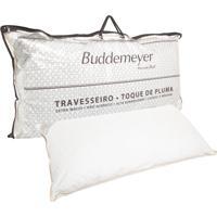 Travesseiro Buddemeyer Toque De Pluma 50X90Cm Branco