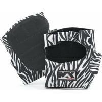 Luva Para Musculação De Zebra - Unissex