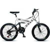 Bicicleta Colli Fulls Gps Aro 20 Dupla Suspensão 21 Marchas - Unissex