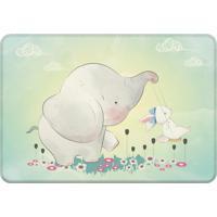 Tapete Love Decor De Atividades Infantil Elefante Com Coelho Único