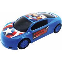 Carrinho Esportivo Vingadores Capitao America - Toyng.
