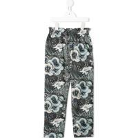 Bonpoint Astro-Print Straight-Leg Trousers - Estampado