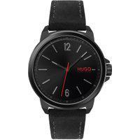 Relógio Hugo Boss Masculino Couro Preto - 1530067