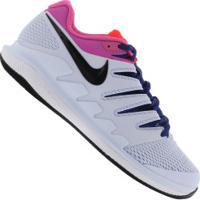 Tênis Nike Air Zoom Vapor X Hc - Masculino - Branco/Azul Cla