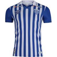 Camisa Do Avaí I 2019 Umbro - Jogador - Azul