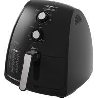 Fritadeira Elétrica Midea Air Fryer 4 Litros 1500W Frp41 Preta 127V