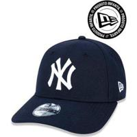 Camiseta Brooklyn Nets Nba New Era Masculina - Masculino-Marinho