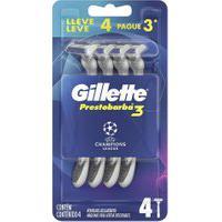 Aparelho De Barbear Descartável Gillette Prestobarba3 Edição Uefa Champions League Leve 4 Pague 3