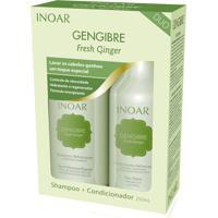 Kit Inoar Gengibre Shampoo Condicionador 250 Ml