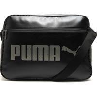 Bolsa Puma Styfr-Campus Reporter Preta