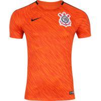 ... Camisa De Treino Do Corinthians 2018 Nike - Masculina - Laranja Preto c1620ba51ea11