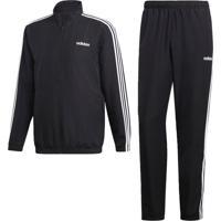Agasalho Adidas Mts 3S Wv C Preto