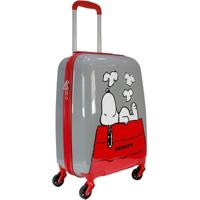 Mala De Viagem Infantil Luxcel Snoopy Mi54045Sn Masculina - Masculino