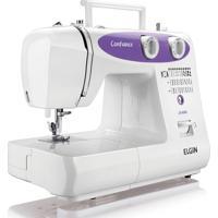 Máquina De Costura Eletrônica Elgin Confidence 31 Pontos Jx-6000 110V