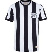 Camiseta Do Inter De Limeira 1978 Retrômania - Masculina - Preto/Branco