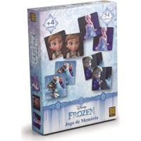 Jogo Memória Frozen - Grow - 54 Cartelas - Disney