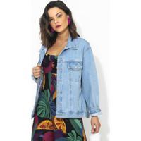 Jaqueta Refarm Jeans Azul